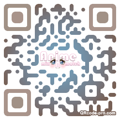 QR code with logo 1RKQ0