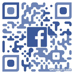 QR code with logo 1RKR0