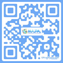 QR code with logo 1RKm0