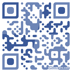 QR code with logo 1RLB0