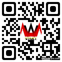 QR code with logo 1RN70