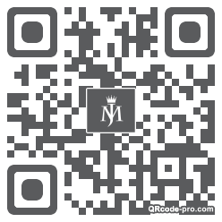 QR code with logo 1RNM0