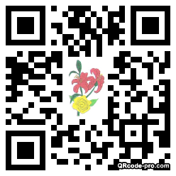 QR code with logo 1RNt0