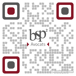 QR code with logo 1RQr0
