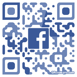 QR code with logo 1RRv0