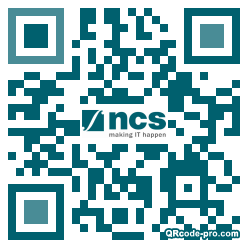 QR code with logo 1RUI0