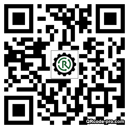 QR code with logo 1Rb20