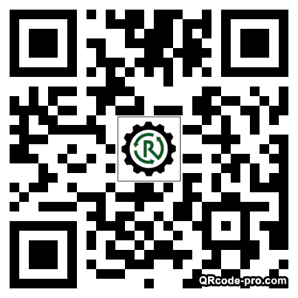 QR code with logo 1Rb40