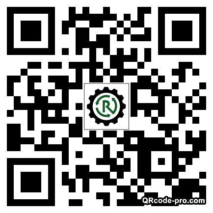 QR code with logo 1Rb70