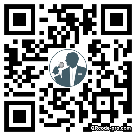 QR code with logo 1Rbv0