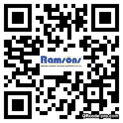 QR code with logo 1Rh80