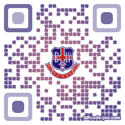 QR code with logo 1Rm20
