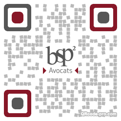 QR code with logo 1Rs40
