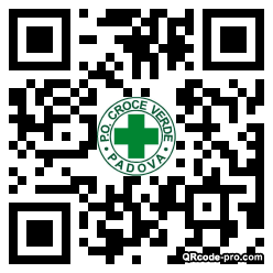 QR code with logo 1RsE0