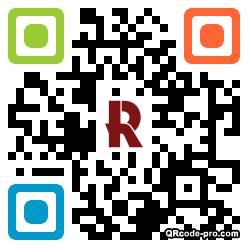QR code with logo 1Ru00