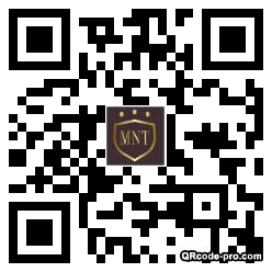 QR code with logo 1Rw70