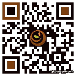 QR code with logo 1S040