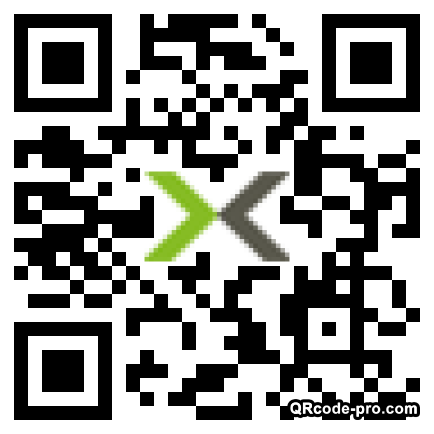 QR code with logo 1S1F0