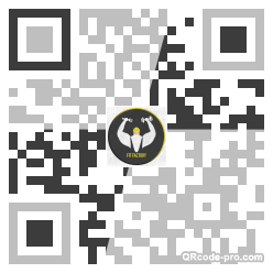 QR code with logo 1S2I0