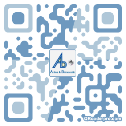 QR code with logo 1S3d0