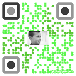 QR code with logo 1S530