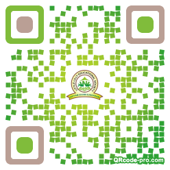 QR code with logo 1S5H0