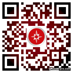 QR code with logo 1S680