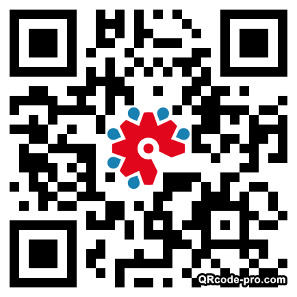 QR code with logo 1S7W0