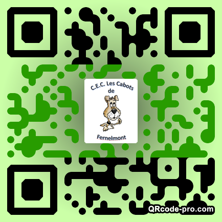 QR code with logo 1SC30