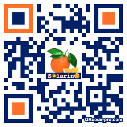 QR code with logo 1SRi0
