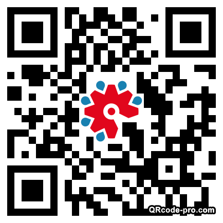 QR code with logo 1STE0