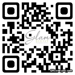QR code with logo 1SZR0