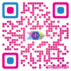 QR code with logo 1SZW0