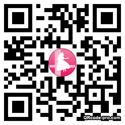 QR code with logo 1Swt0
