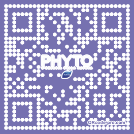 QR code with logo 1T050