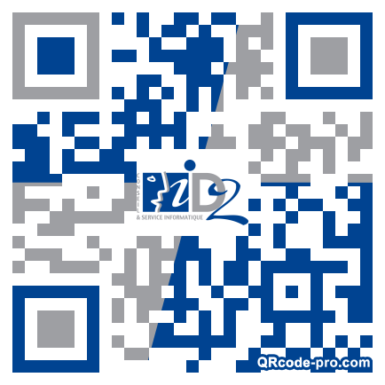 QR code with logo 1T2a0