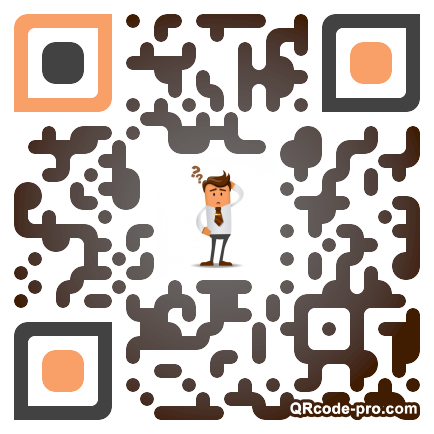 QR code with logo 1T350