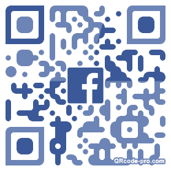 QR code with logo 1T3N0