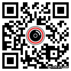 QR code with logo 1T3k0