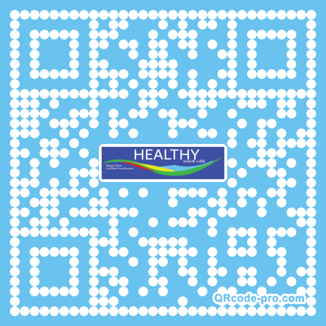 QR code with logo 1T5S0