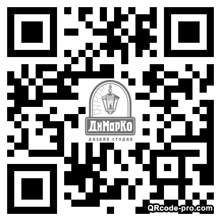 QR code with logo 1T5h0