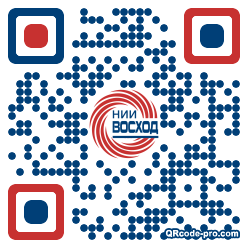 QR code with logo 1T5w0