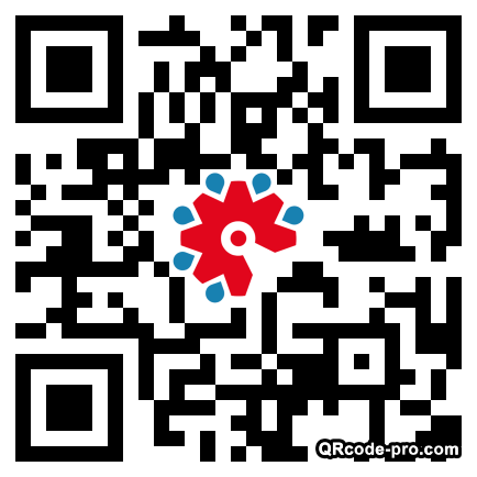QR code with logo 1T640
