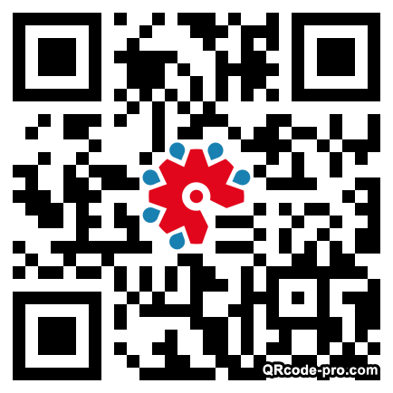 QR code with logo 1T660