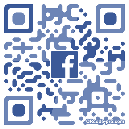 QR code with logo 1T8B0