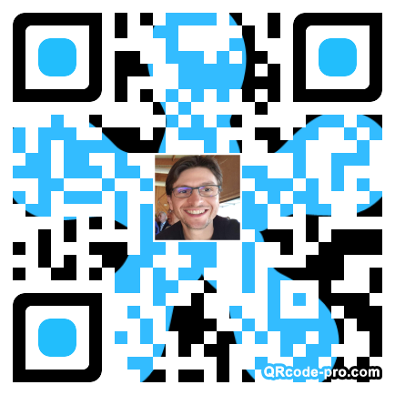 QR code with logo 1T8r0