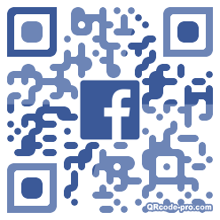 QR code with logo 1T900
