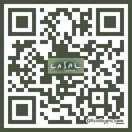QR code with logo 1T910