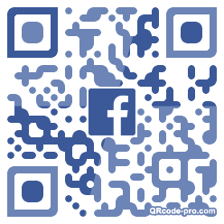 QR code with logo 1TB90