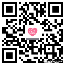 QR code with logo 1TBM0